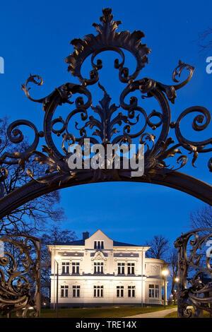 Regional Museum Villa Wippermann, Deutschland, Nordrhein-Westfalen, Sauerland, Halver - Stockfoto