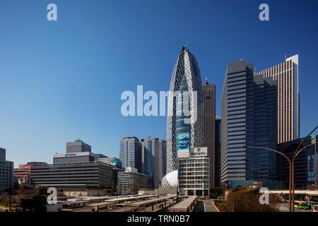 Asien, Japan, Tokyo, Shinjuku, Mode Gakuen Cocoon Tower, Mode Hochschule Gebäude