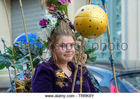 Paris, Frankreich. Der Harvest Festival Montmartre - Stockfoto
