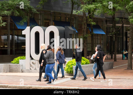 Megaphon Hauptsitz 100 Sommer Street Boston, MA - Stockfoto