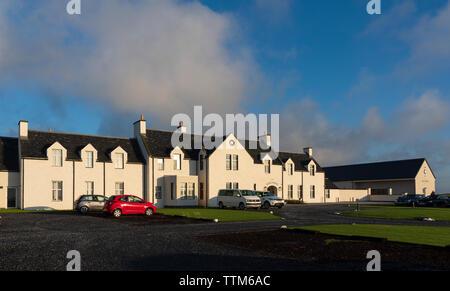 Anzeigen von machrie Golf Links Hotel auf Islay. In der Inneren Hebriden, Schottland, Großbritannien - Stockfoto