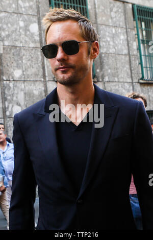 Giorgio Armani - Ankunft - Mailand Men's Fashion Week Frühjahr/Sommer 2019 - Am 17. Juni 2019 - Stockfoto