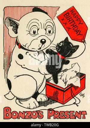 Bonzo Datum: 1947 - Stockfoto