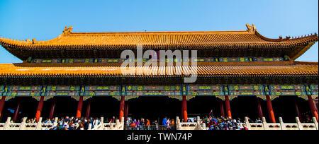 Der königliche Palast Pavillon im verboten Stadt in Peking