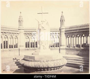 Untitled; England, ca. 1865 Deskriptiv: [Innenansicht des Memorial at Cawnpore] Fotografien Albumen drucken Ungerahmt: 9 1/8 x 11 1/8 Zoll. (23,18 x 28,26 cm) Geschenk von Mr. Und Mrs. Philip Feldman (M.83.302.22) Fotografien; ca. 1865 Datum QS:P571,+1865-00-00T00:00:00Z/9,P1480,Q5727902; - Stockfoto