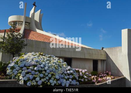 Camacha Pfarrkirche, Camacha, Madeira, Portugal, Europäische Union - Stockfoto