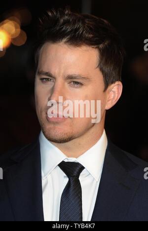 """Amerikanischer Schauspieler Channing Tatum besucht die Premiere von """"der Adler"""" im Empire, Leicester Square in London am 9. März 2011. UPI/Rune Hellestad - Stockfoto"""