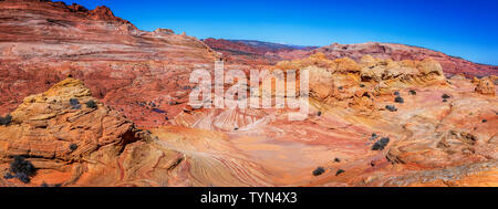 Die Welle in Vermillion Cliffs, Arizona - Stockfoto