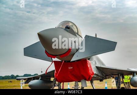 Eurofighter Typhoon RIAT UK - Stockfoto