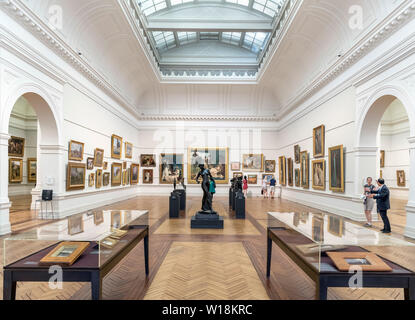 Innenraum der Art Gallery von New South Wales, die Domain, Sydney, Australien - Stockfoto