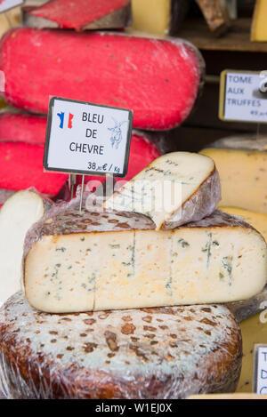 Käse, Aix-en-Provence, Bouches du Rhône, Provence, Provence-Alpes-Cote d'Azur, Frankreich, Europa - Stockfoto