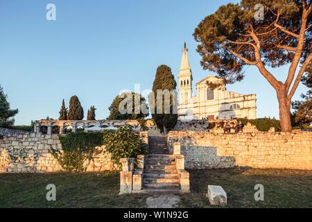 Kirche Sveta Eufemija, Rovinj, Istrien, Kroatien - Stockfoto