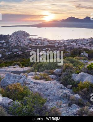Calvi, Korsika, Frankreich - Stockfoto