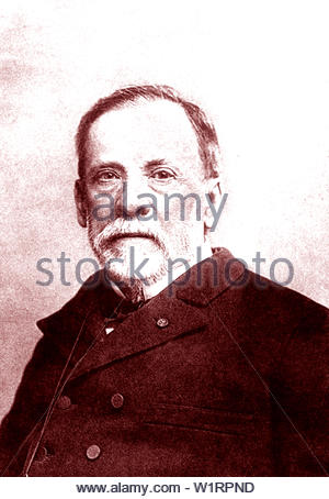 Louis Pasteur, 1822-1895 - Stockfoto