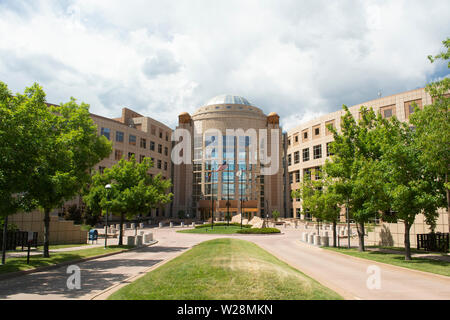GOLDEN, CO, USA - 13. August 2016: Die Jefferson County Courthouse in Golden, Colorado - Stockfoto