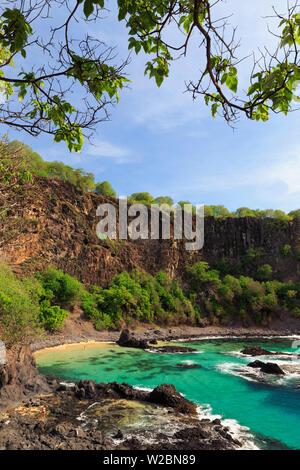 Brasilien, Fernando de Noronha Fernando de Noronha Marine National Park, porco's Bay - Stockfoto