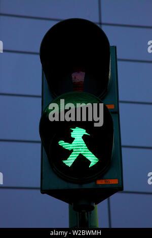 Ampelmannchen, Ampel, Berlin, Deutschland, Europa. - Stockfoto