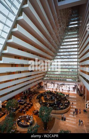 Singapur, Marina Bay Sands Hotel Lobby Interieur - Stockfoto