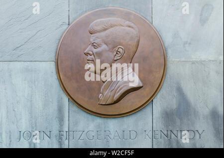 USA, Massachusetts, Cape Cod, Hyannis, JFK Memorial, Denkmal für Präsident John F. - Stockfoto
