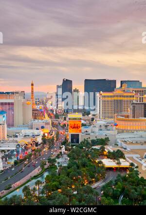 USA, Nevada, Las Vegas, The Strip Stockfoto