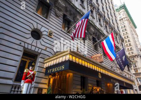 St. Regis Hotel, Manhattan, New York City, New York, USA - Stockfoto