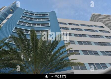 Hochhäuser am Strand von Miami und Ft. Lauderdale - Stockfoto