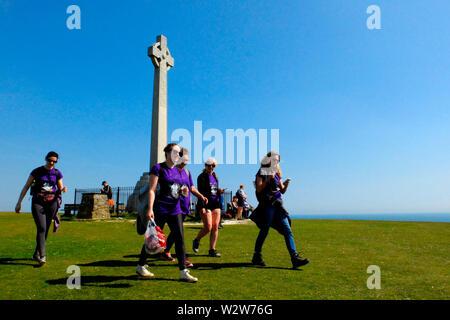 Mountbatten's Walk der Wight 2019 Veranstaltung - Stockfoto