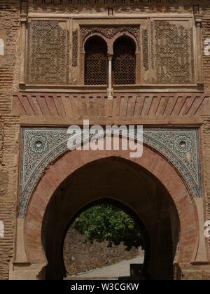 Palast von Alhambra, Granada, Spanien - Stockfoto