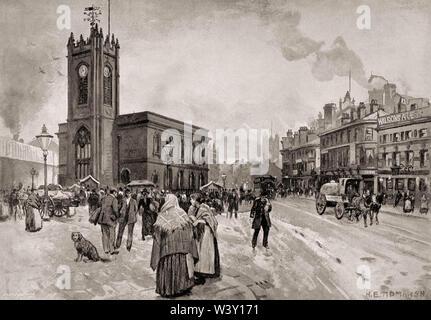 Kirche der Heiligen Dreifaltigkeit, Horwich, Greater Manchester, England, UK, 19. Jahrhundert