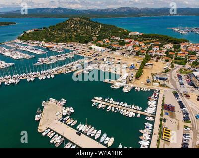 Insel Murter in Kroatien - Stockfoto