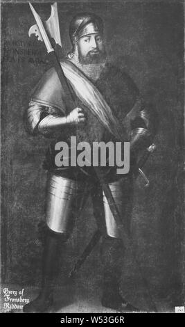 David Frumerie, Georg von Frundsberg, 1475-1528, Malerei, 17. Jahrhundert, Öl auf Leinwand, Höhe 196 cm (77,1 Zoll), Breite 119 cm (46,8 Zoll)