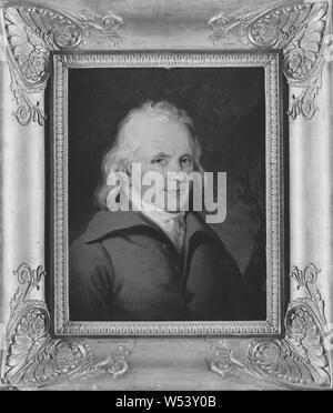 Johan Gustaf Sandberg, Elias Martin, 1739-1818, Künstler, Malerei, 1836, Öl auf Leinwand, Höhe 26 cm (10,2 Zoll), Breite 20 cm (7,8 Zoll) - Stockfoto