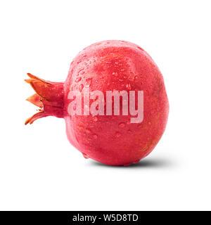 Frische reife Granatapfel auf weißem Hintergrund. Hochauflösendes Bild - Stockfoto