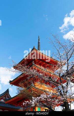 Kiyomizu-dera Tempel, Weltkulturerbe der UNESCO, Kyoto, Japan, Asien - Stockfoto