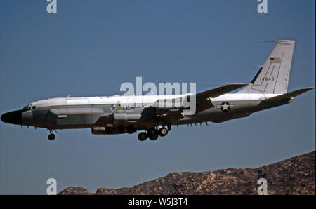 USAF United States Air Force Boeing RC-135V Nietverbindung - Stockfoto
