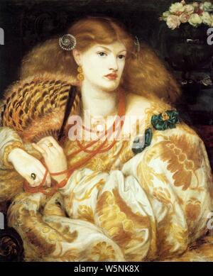 Dante Gabriel Rossetti: Monna Vanna - - Stockfoto