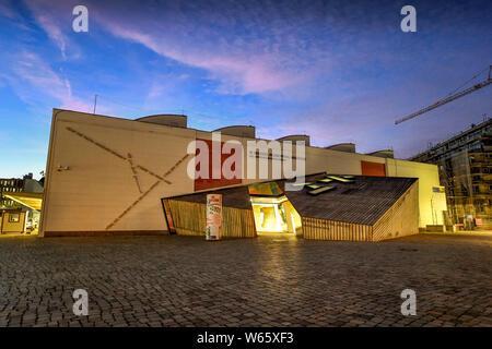 W. Michael Blumenthal Akademie des Juedischen Museen, Lindenstraße, Kreuzberg, Berlin, Deutschland - Stockfoto