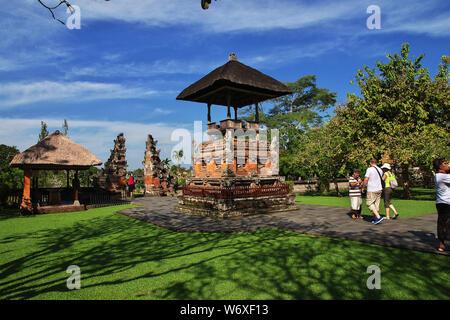 Taman Ayun Tempel auf Bali, Indonesien - Stockfoto