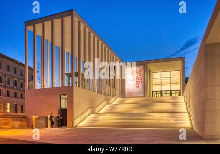 James Simon Gallery, David Chipperfield Architects, Neues Museum, Pergamon Museum, Museumsinsel, Berlin Mitte, Berlin, Deutschland - Stockfoto