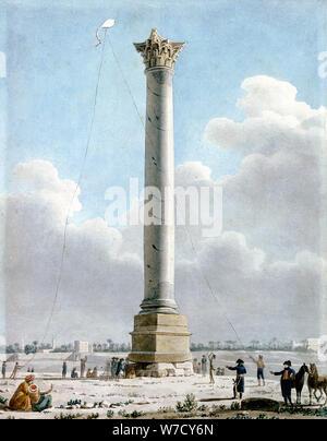 Die Spalte 'Pompey, Alexandria 1798', 1798. Artist: Vivant Denon - Stockfoto