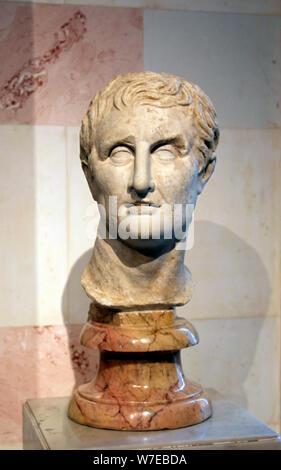 Menander, griechischen Dramatiker. Artist: Unbekannt - Stockfoto