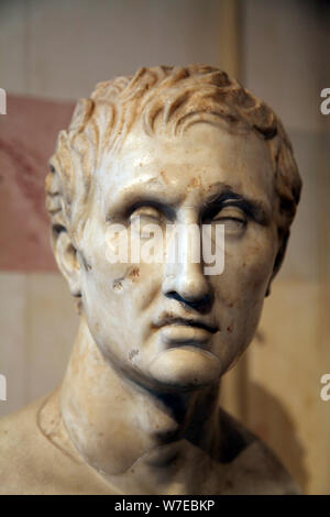 Leiter des Menander, griechischen Dramatiker. Artist: Unbekannt - Stockfoto