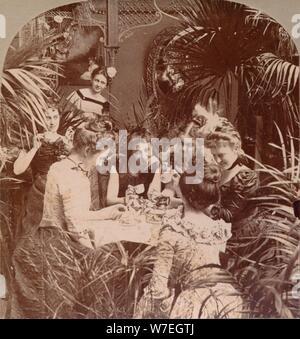 """""""Ein Vermögen im Wasserglas', 1901. Artist: Unbekannt - Stockfoto"""