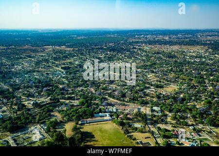 Luftaufnahmen von Harare, Simbabwe - Stockfoto