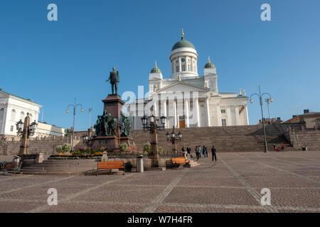 Helsinki Kathedrale, Finnland - Stockfoto