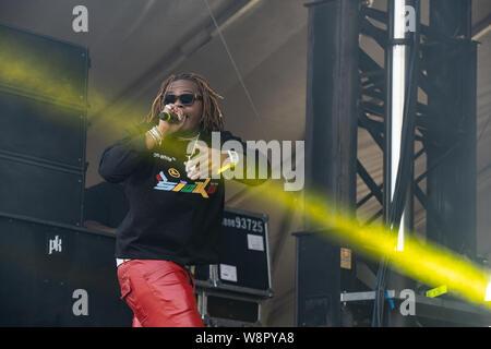 Amerikanische rapper Gunna bei Breakout Festival Tag 2 an der PNE Amphitheater in Vancouver, BC am 16. Juni, 2019 - Stockfoto