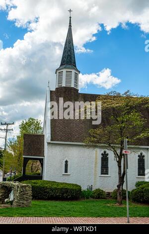 Kapelle der Unbefleckten Empfängnis, der Apostel Johannes Römisch-katholische Kirche, 231 North King Street, Leesburg, Virginia - Stockfoto