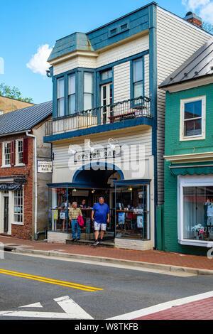 King Street Oyster Bar, 12 South King Street, Leesburg, Virginia - Stockfoto