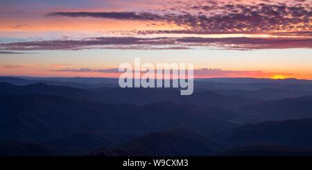 Mt Buller Luftaufnahmen - Stockfoto