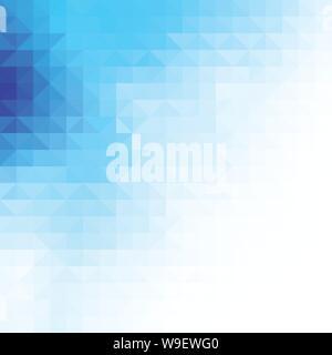 Blaues Dreieck Hintergrund - Stockfoto